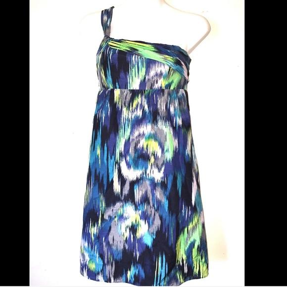 Ann Taylor Dresses & Skirts - Ann Taylor Loft silk blend blue dress